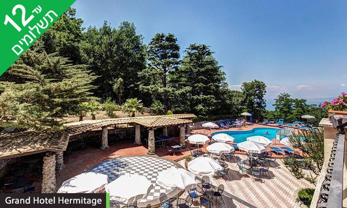 7 סורנטו, נאפולי והאזור - חופשה בדרום איטליה במלון המשקיף לנוף מהמם