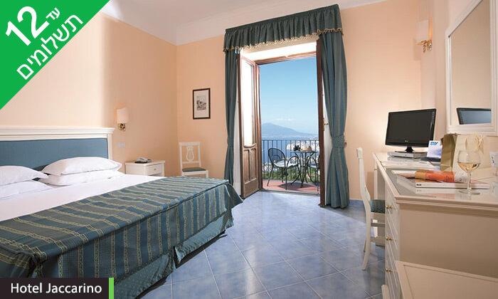 11 סורנטו, נאפולי והאזור - חופשה בדרום איטליה במלון המשקיף לנוף מהמם