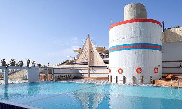 2 יום כיף וספא במלון הרודס תל אביב