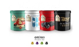 50 קפסולות Extrasso באריזת פח