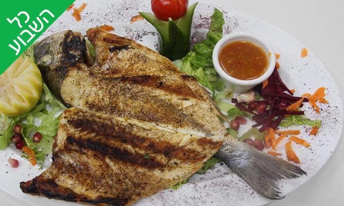 6 ארוחה זוגית במסעדת הנחל, צומת מגידו
