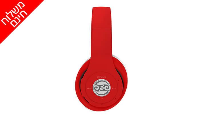 3 2 יחידות אוזניות קשת Bluetooth מתקפלות - משלוח חינם