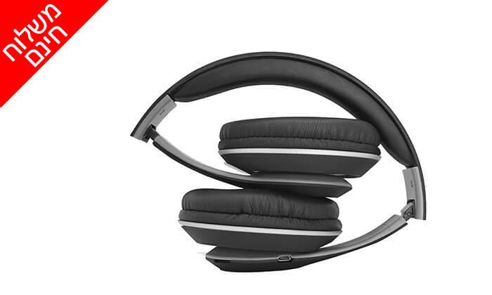 4 2 יחידות אוזניות קשת Bluetooth מתקפלות - משלוח חינם