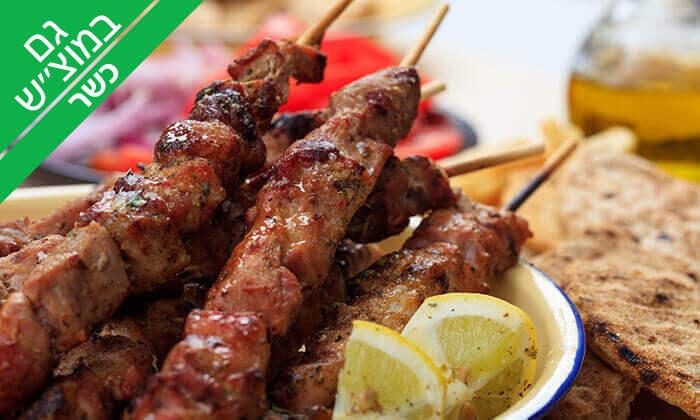 8 ארוחת בשרים זוגית במסעדת הגריל הלוהט הכשרה, תל אביב