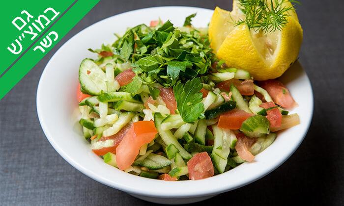 9 ארוחת בשרים זוגית במסעדת הגריל הלוהט הכשרה, תל אביב