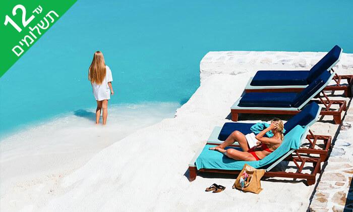 6 כרתים - חופשת קיץ הכול כלול במלון 5* Radisson Blu מול הים