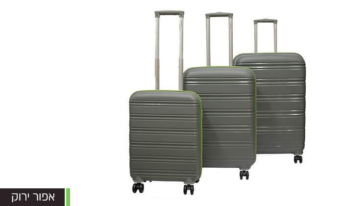5  סט 3 מזוודות CALPAK