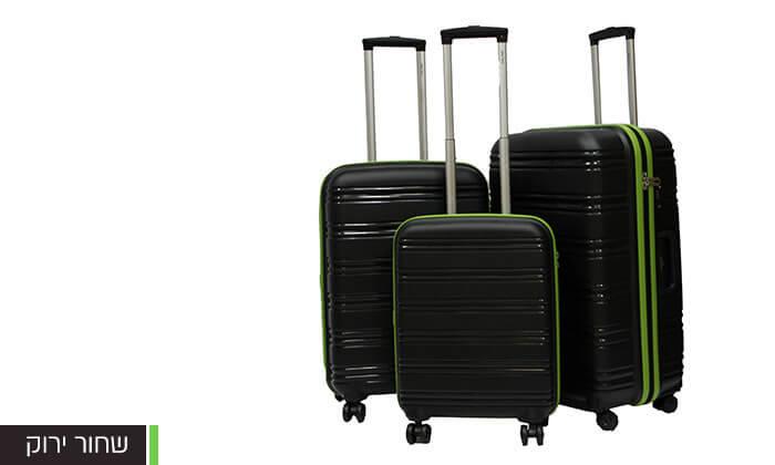 3  סט 3 מזוודות CALPAK