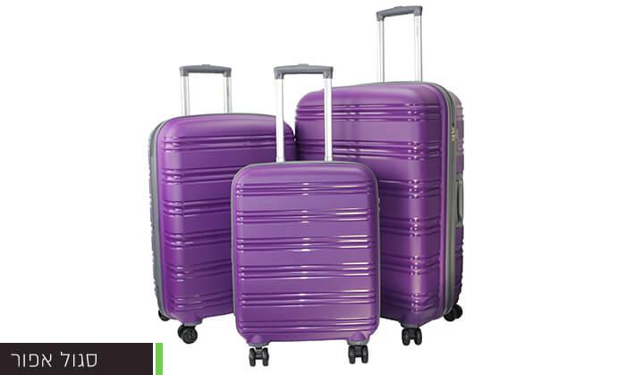 9  סט 3 מזוודות CALPAK