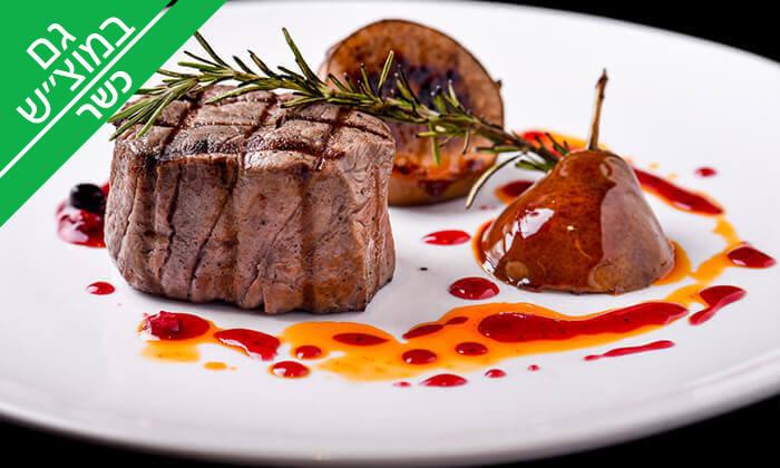 6 מסעדת לחם בשר הכשרה למהדרין בנמל תל אביב - ארוחת פרימיום זוגית