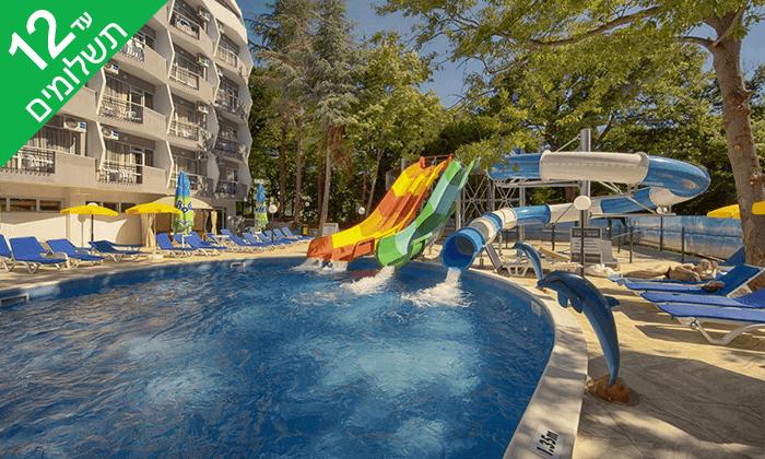 2 ורנה - חופשת הכול כלול במלון מומלץ עם פארק מים