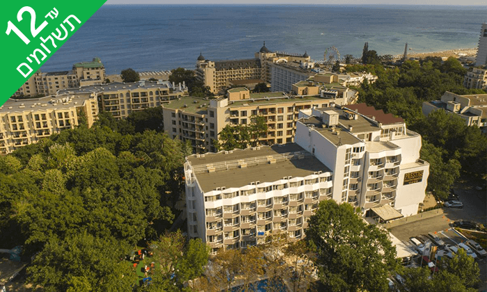 4 ורנה - חופשת הכול כלול במלון מומלץ עם פארק מים