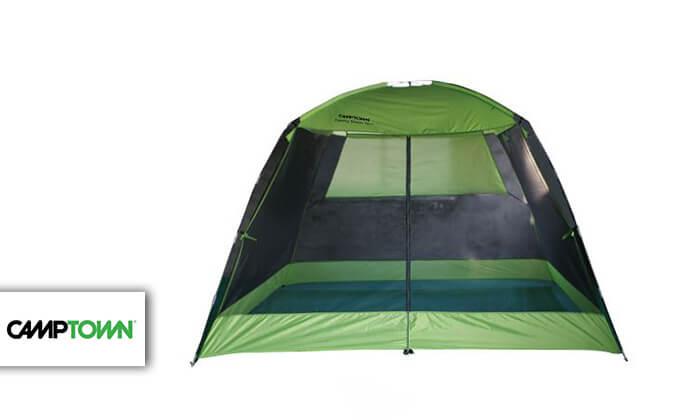 2 אוהל משפחתי CAMPTOWN