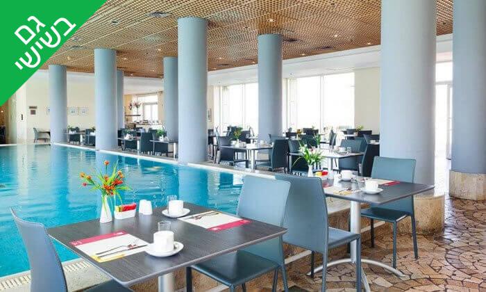 6 ארוחת בוקר בופה במלון Leonardo suite, בת ים