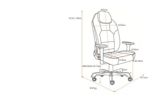 5 כיסא גיימרים ויטוריו דיוואני Vitorio Divani