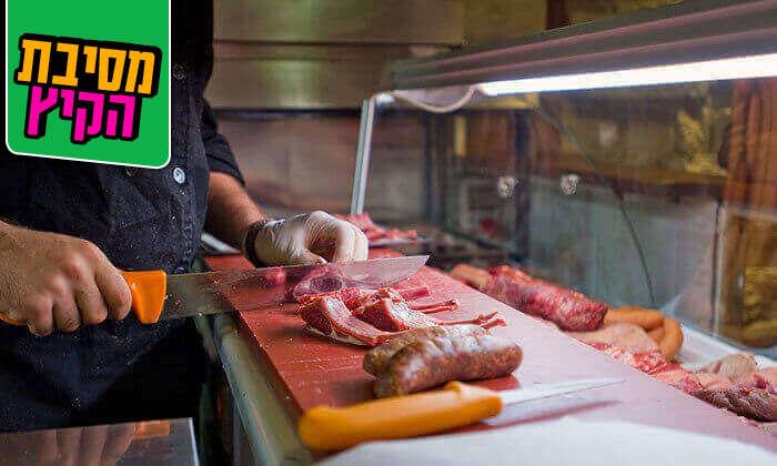 7 מסעדת רק בשר, תל אביב - ארוחה זוגית