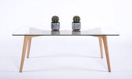שולחן קפה מלבני