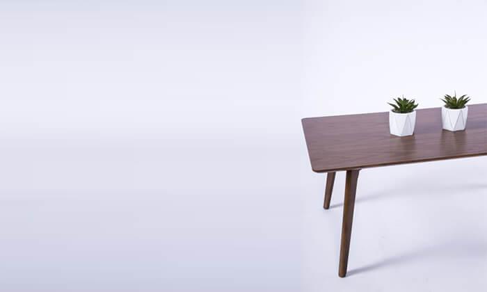 4 שולחן קפה מלבני