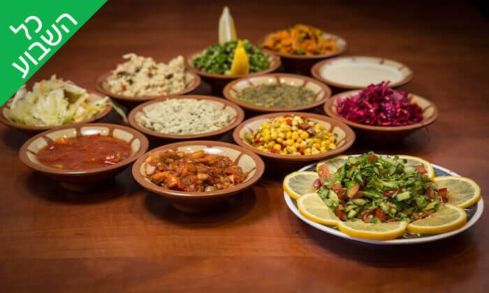 2 המסעדה הלבנונית אבו גוש, תל אביב - ארוחה זוגית