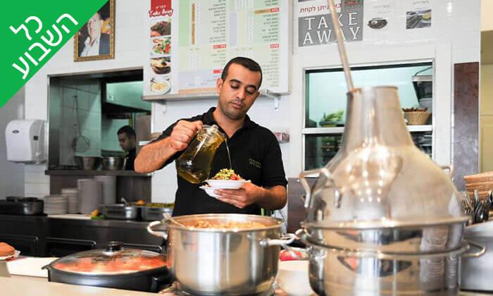 6 המסעדה הלבנונית אבו גוש, תל אביב - ארוחה זוגית