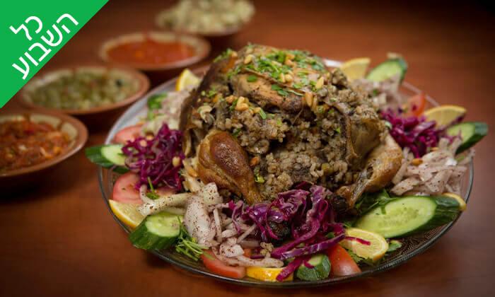 7 המסעדה הלבנונית אבו גוש, תל אביב - ארוחה זוגית