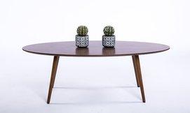 שולחן קפה אובלי
