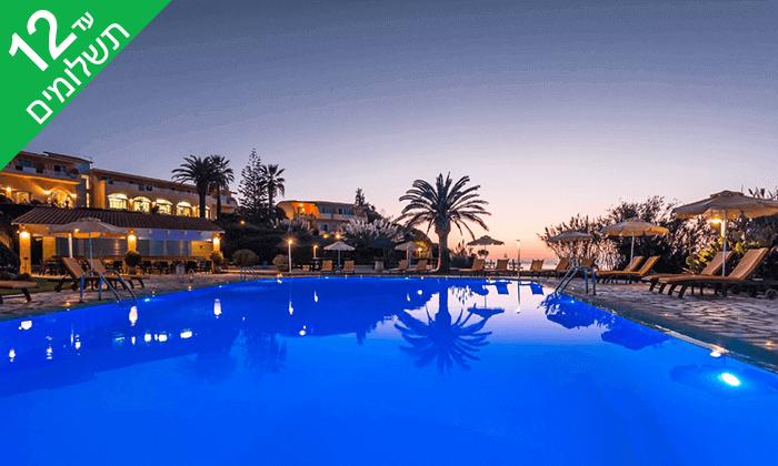 3 יולי-אוגוסט באי היווני קורפו - גן עדן כחול ירוק במרחק שעתיים טיסה