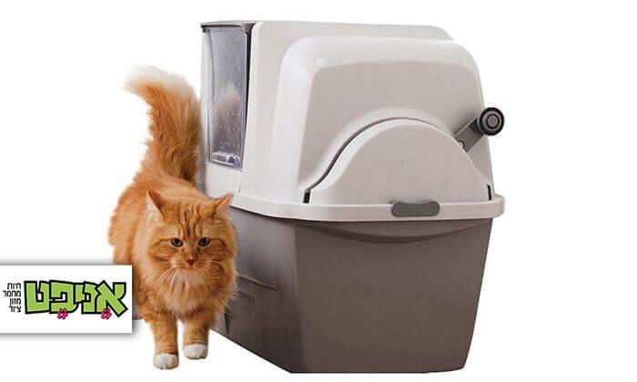 2 שירותים אוטומטיים לחתול