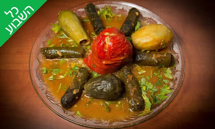 4 ארוחה זוגית במסעדת הלבנונית אבו גוש, שפיים