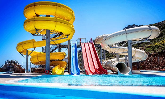 2 כרתים - חופשה משפחתית במלון מומלץ עם פארק מים