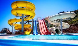 קיץ בכרתים, כולל פארק מים