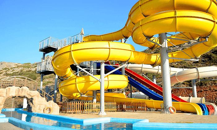 3 כרתים - חופשה משפחתית במלון מומלץ עם פארק מים