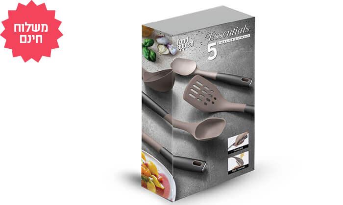 4 Food Appeal - מארז 9 חלקים כולל סירים ומחבתות | משלוח חינם