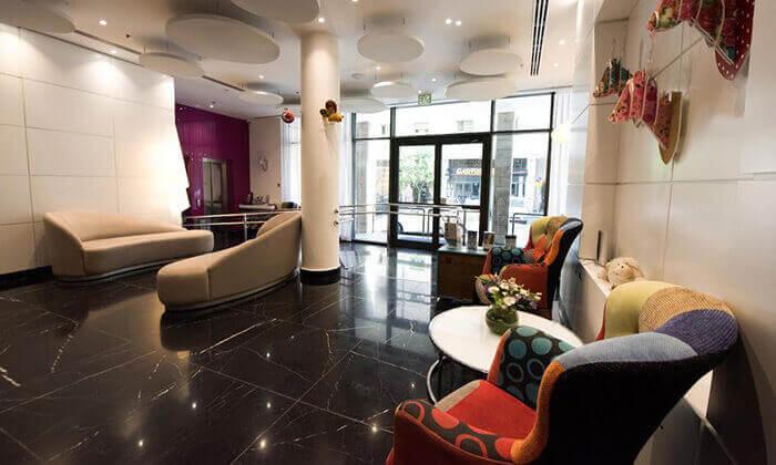 7 מלון אייל ירושלים - לילה זוגי במלון בוטיק