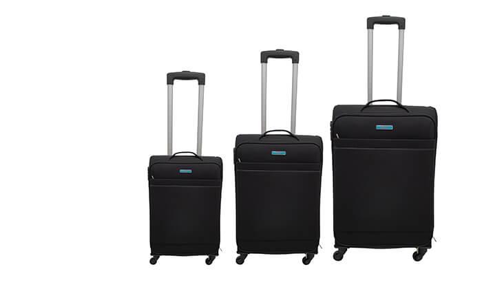 5 שלוש מזוודות בד