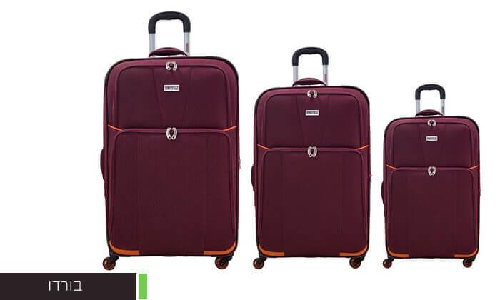 3 סט שלוש מזוודות SWISS