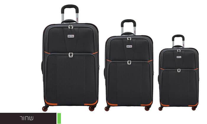 4 סט שלוש מזוודות SWISS