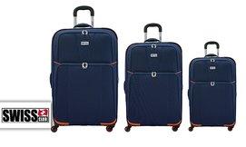 סט שלוש מזוודות SWISS