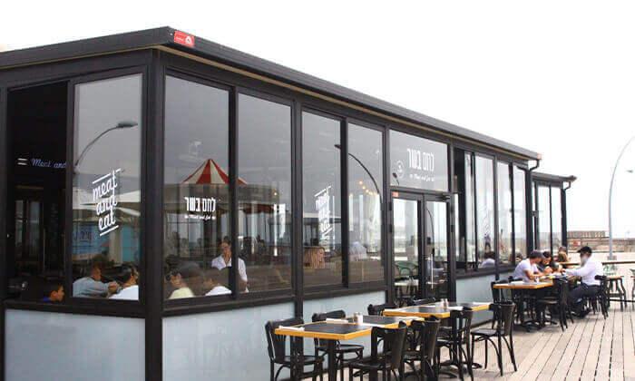 5 ארוחת פרימיום זוגית במסעדת לחם בשר הכשרה למהדרין, נמל תל אביב