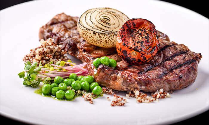 11 ארוחת פרימיום זוגית במסעדת לחם בשר הכשרה למהדרין, נמל תל אביב