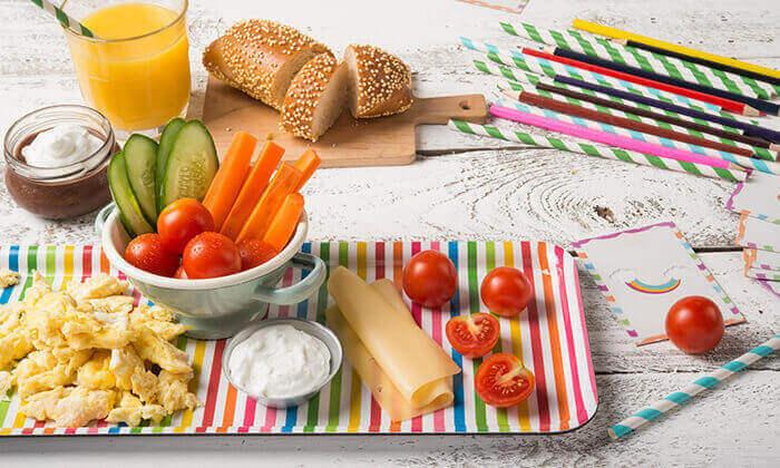 4 פרש קיטשן בתל אביב - ארוחת בוקר משודרגת וכשרה לזוג