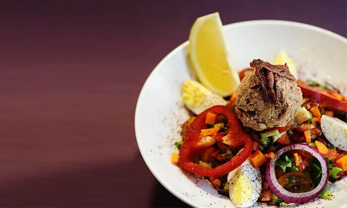 4 ארוחה לזוג במסעדת Boost FM, תל אביב