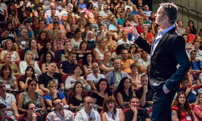 5 כרטיס להרצאה של אלון אולמן ברמת גן - 'פריצת גבולות. להגשים את החיים שתמיד רצית'