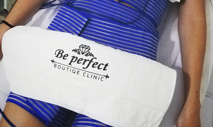 6 קליניקת Be perfect בראש העין - הצרת היקפים עם מכשיר ICE 21