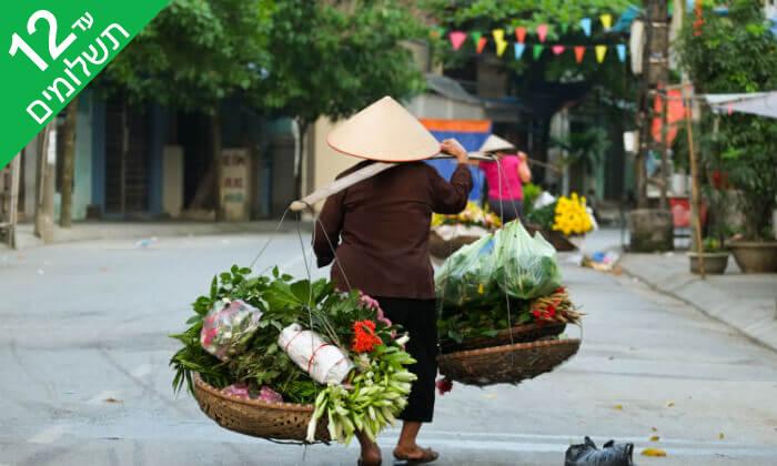 8 טיול מאורגן 12 ימים לוייטנאם וקמבודיה - נפלאות הדרקון הצהוב