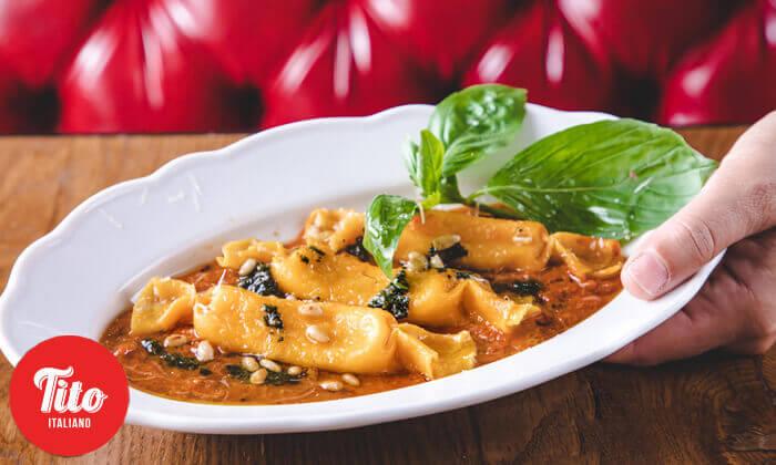 3 מסעדת טיטו איטליאנו בגבעתיים - ארוחה זוגית