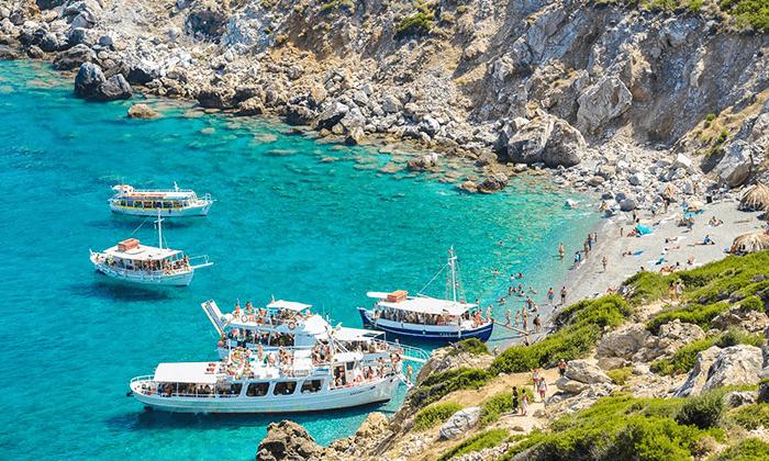 """9 סקיאתוס - קיץ חם באי הכי יפה ביוון, כולל סופ""""ש"""