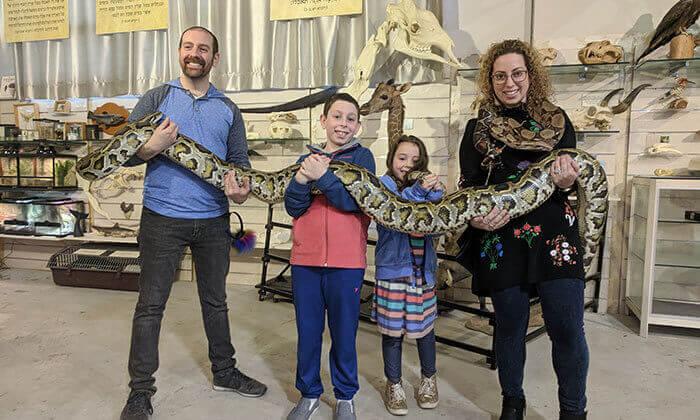 """4 מוזיאון הטבע התנ""""כי בבית שמש - כרטיס לסיור ליחיד או למשפחה"""