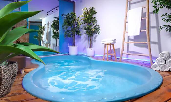 5 מלון שני בירושלים: יום ספא ליחיד הכולל עיסוי, כיבוד וכניסה למתקנים
