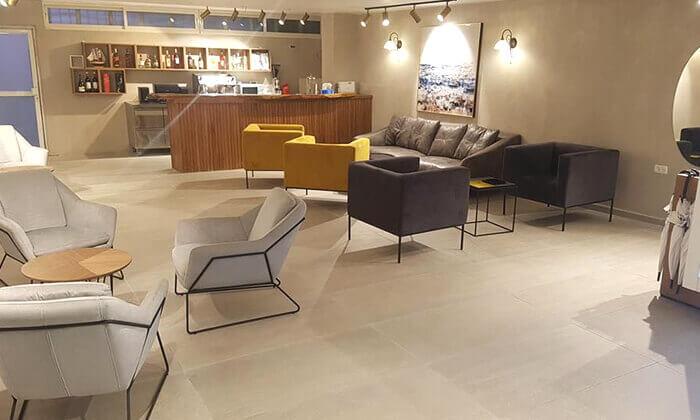 7 מלון שני בירושלים: יום ספא ליחיד הכולל עיסוי, כיבוד וכניסה למתקנים